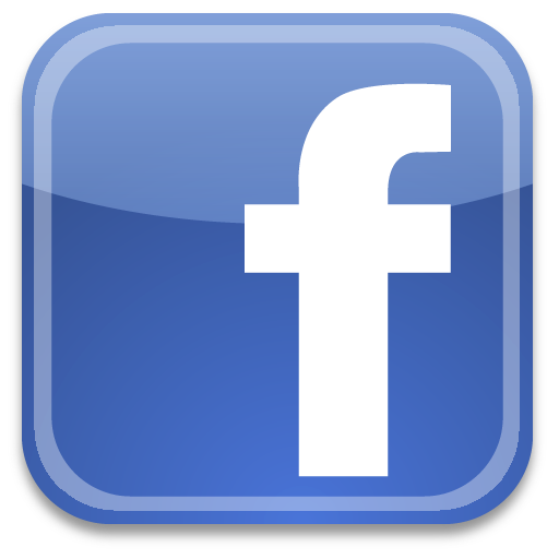 facebook link and logo